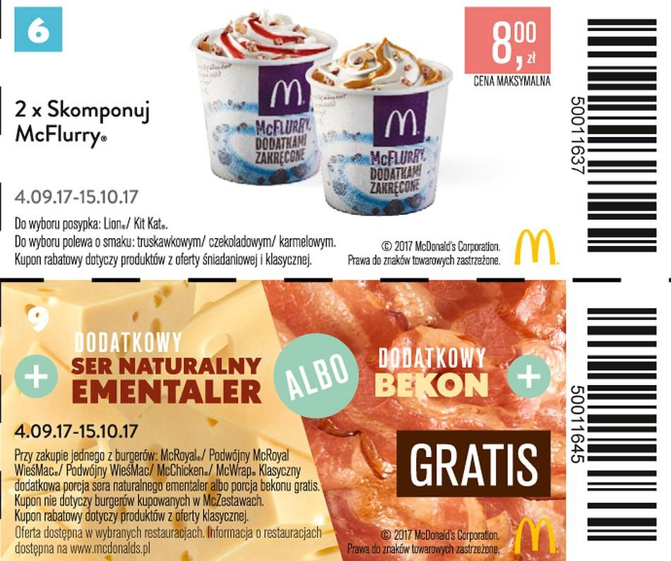 Gazetka promocyjna McDonalds do 15/10/2017 str.5