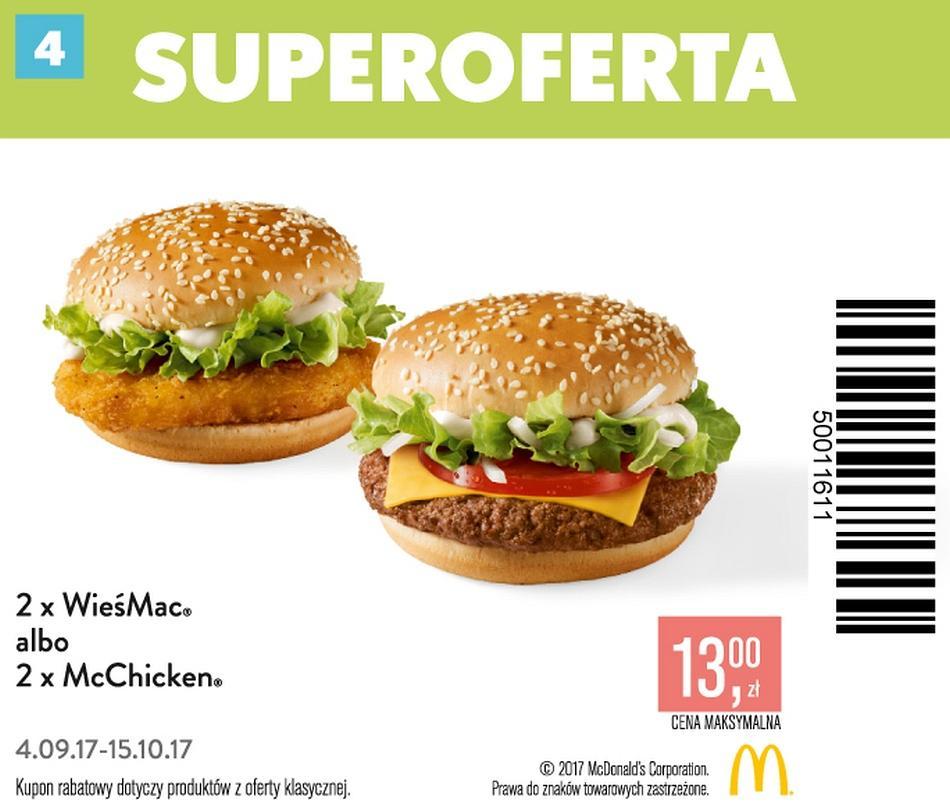 Gazetka promocyjna McDonalds do 15/10/2017 str.3