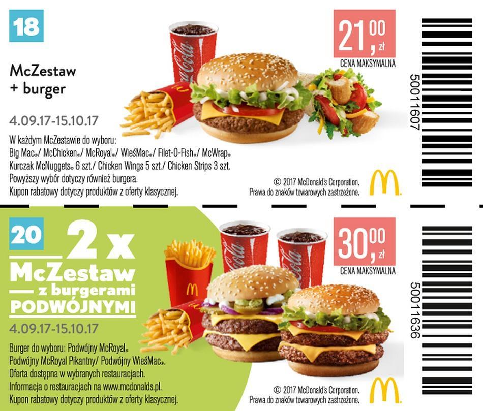 Gazetka promocyjna McDonalds do 15/10/2017 str.14