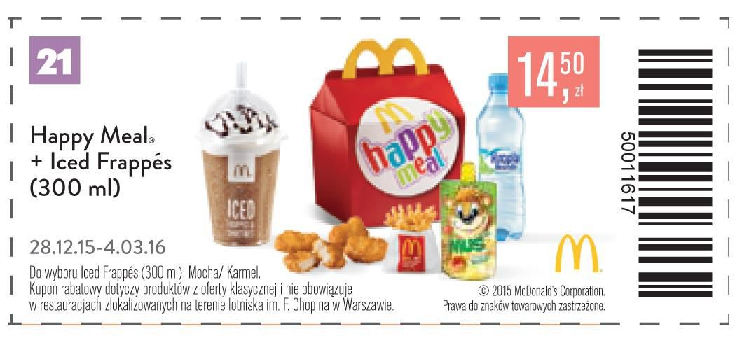Gazetka promocyjna McDonalds do 04/03/2016 str.22