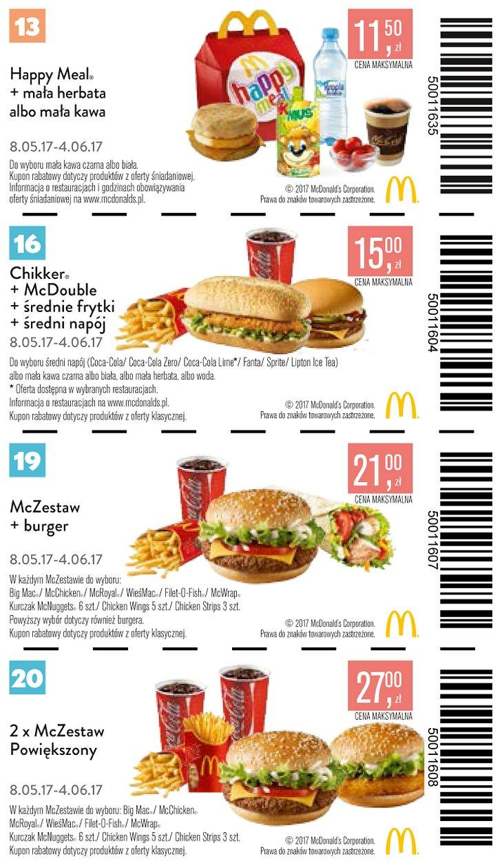 Gazetka promocyjna McDonalds do 04/06/2017 str.7