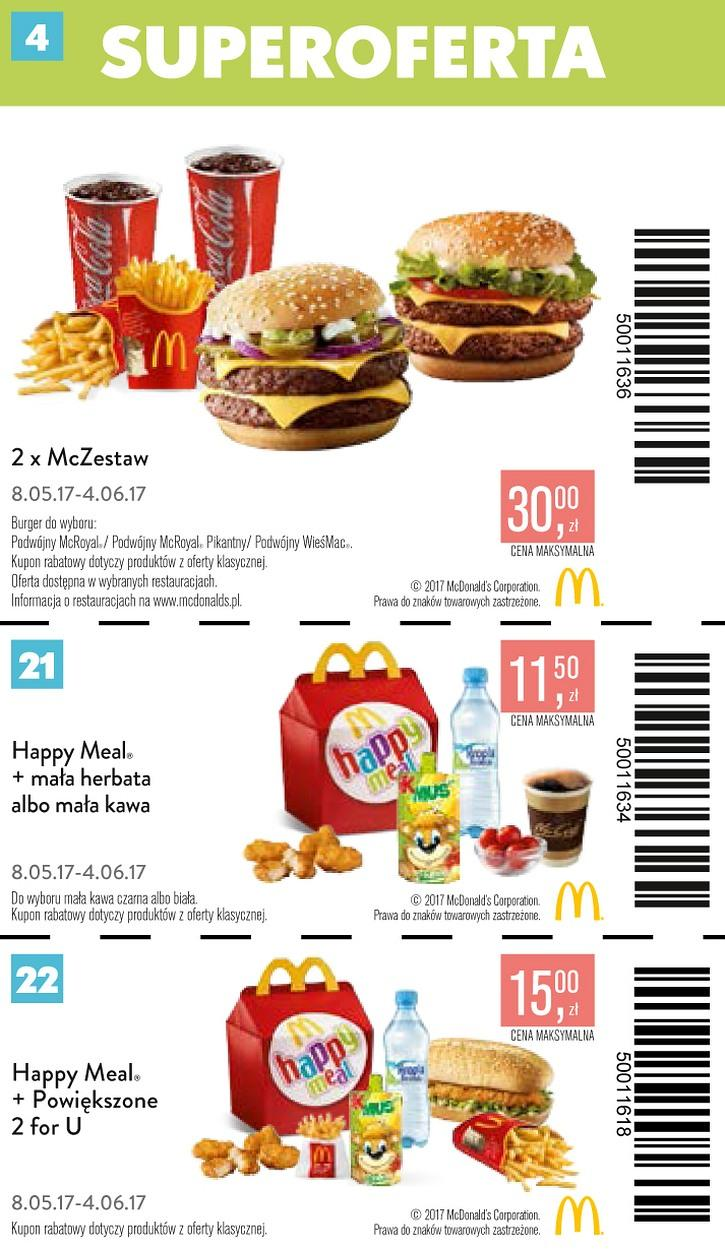 Gazetka promocyjna McDonalds do 04/06/2017 str.3