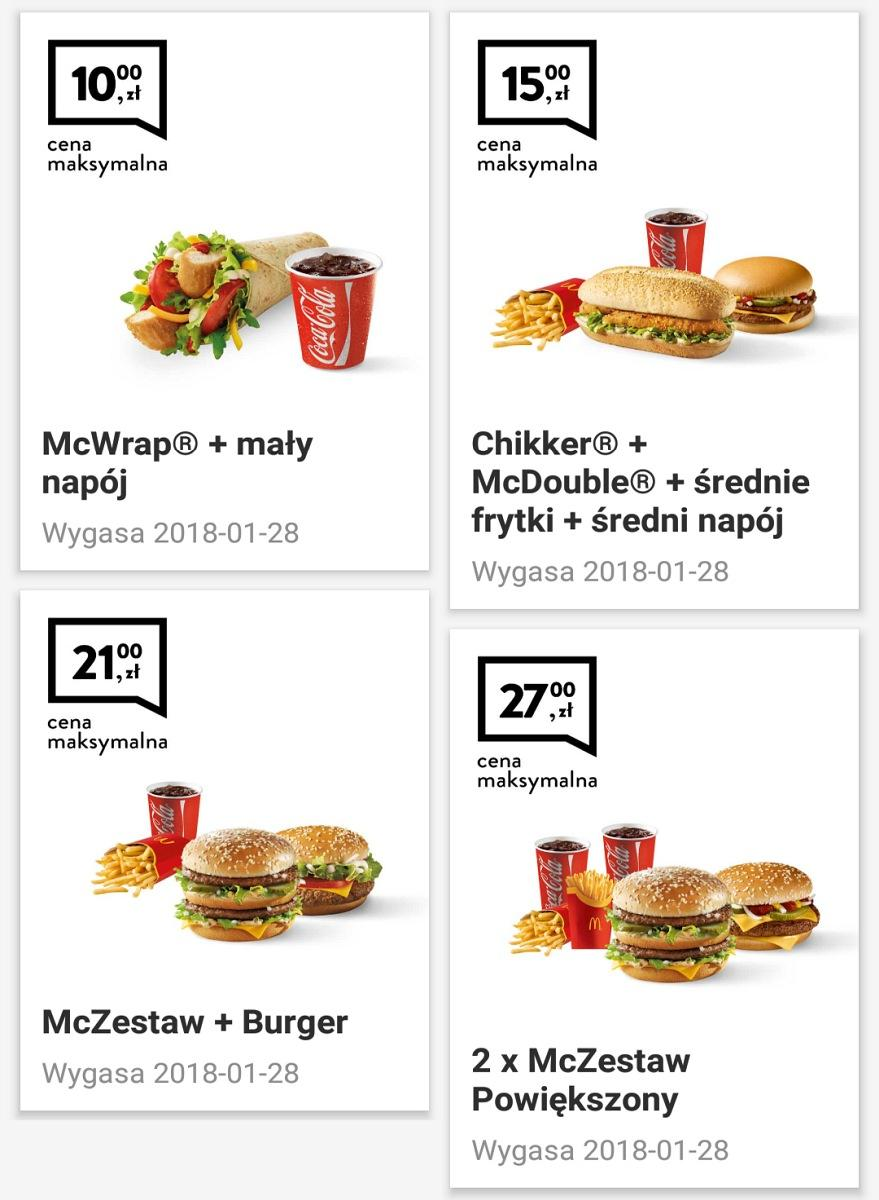 Gazetka promocyjna McDonalds do 28/01/2018 str.2
