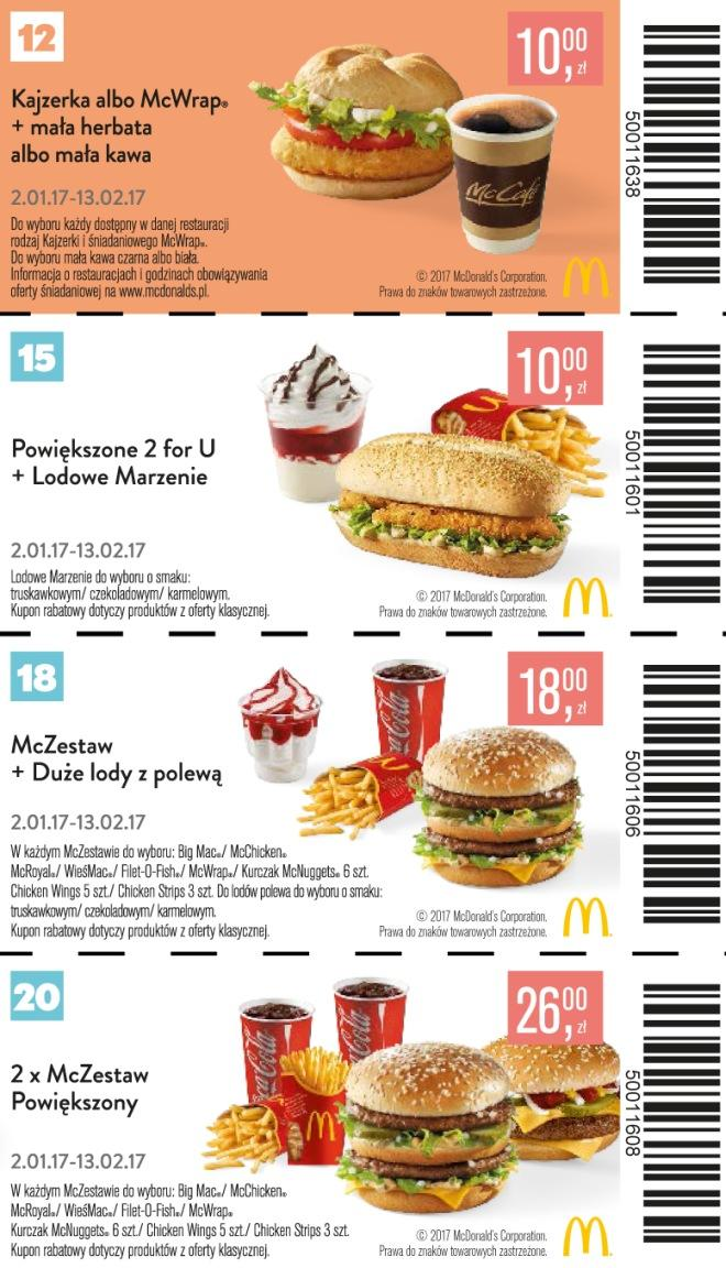 Gazetka promocyjna McDonalds do 13/02/2017 str.5
