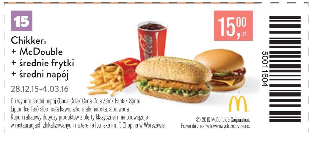 Gazetka promocyjna McDonalds do 04/03/2016 str.14