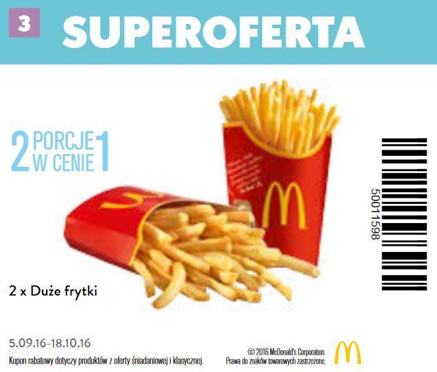 Gazetka promocyjna McDonalds do 18/10/2016 str.2