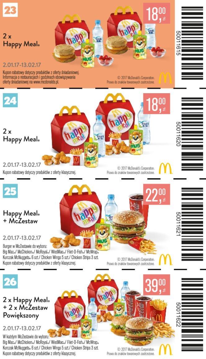 Gazetka promocyjna McDonalds do 13/02/2017 str.7