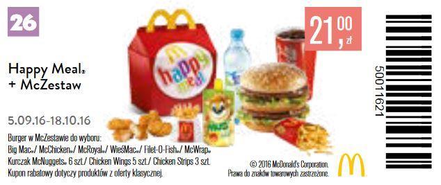 Gazetka promocyjna McDonalds do 18/10/2016 str.27