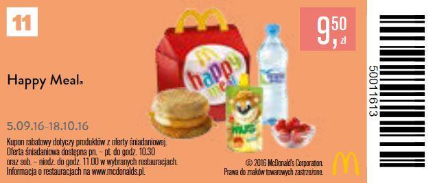 Gazetka promocyjna McDonalds do 18/10/2016 str.10