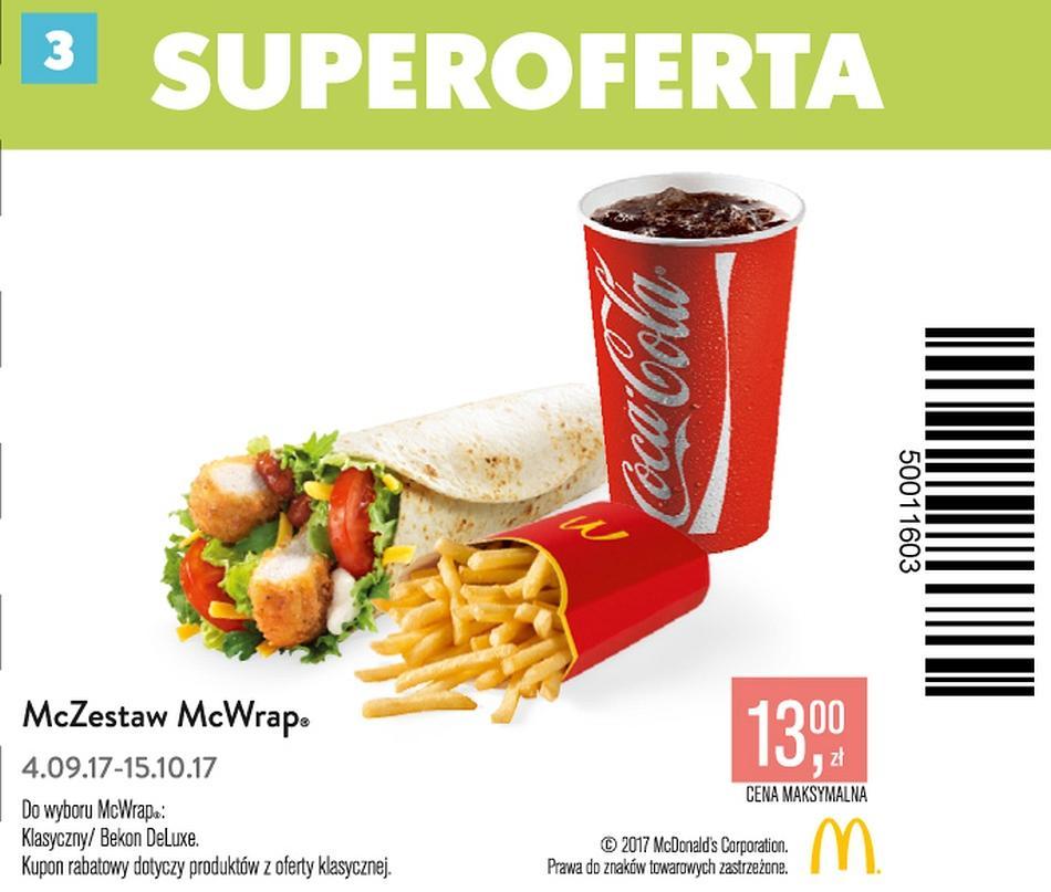 Gazetka promocyjna McDonalds do 15/10/2017 str.2