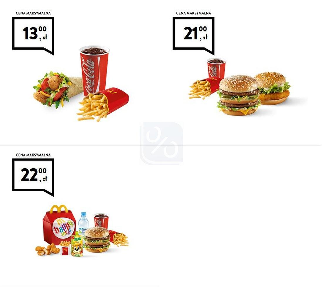 Gazetka promocyjna McDonalds do 08/04/2018 str.1