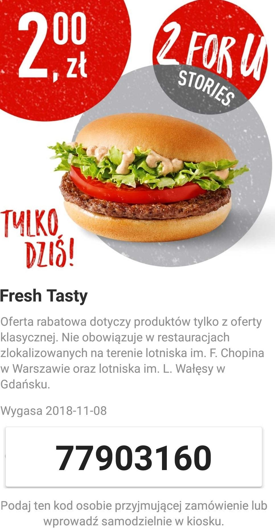 Gazetka promocyjna McDonalds do 08/11/2018 str.1