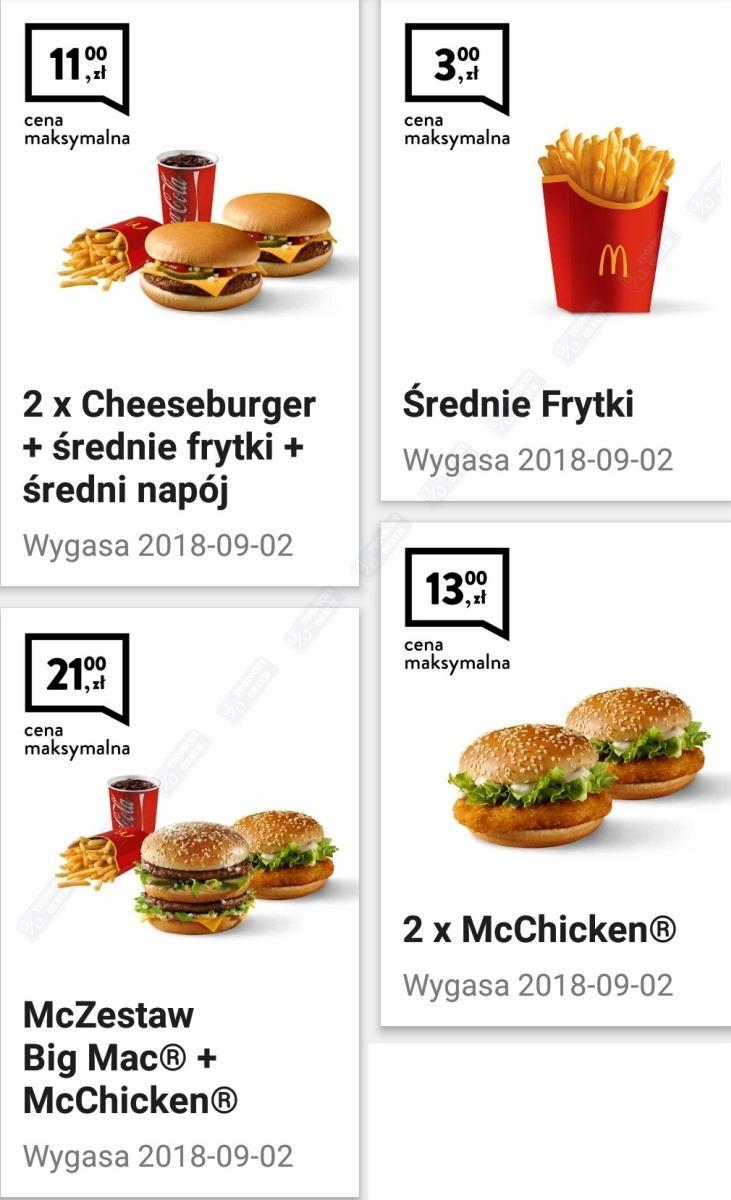 Gazetka promocyjna McDonalds do 02/09/2018 str.0