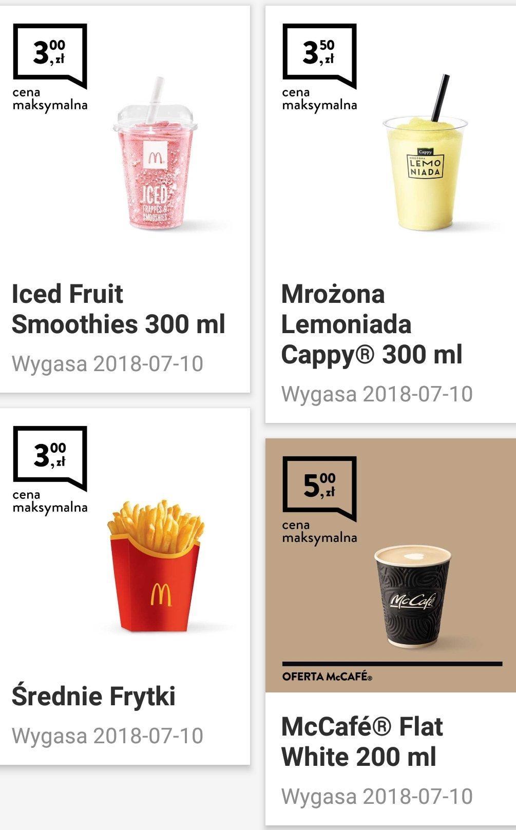 Gazetka promocyjna McDonalds do 10/07/2018 str.0