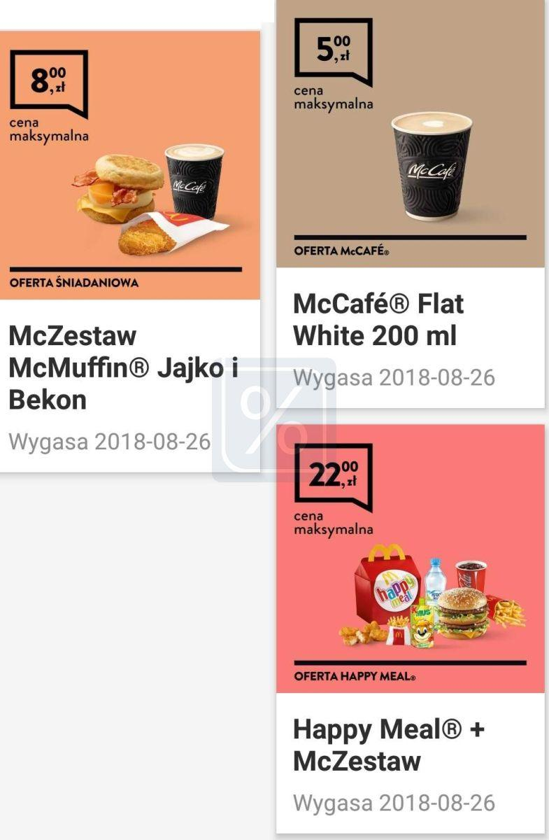 Gazetka promocyjna McDonalds do 26/08/2018 str.1