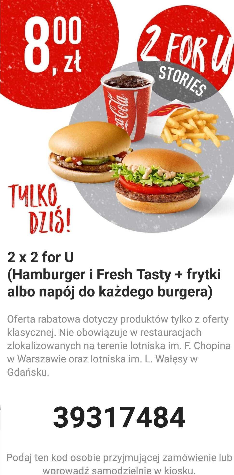 Gazetka promocyjna McDonalds do 16/11/2018 str.0