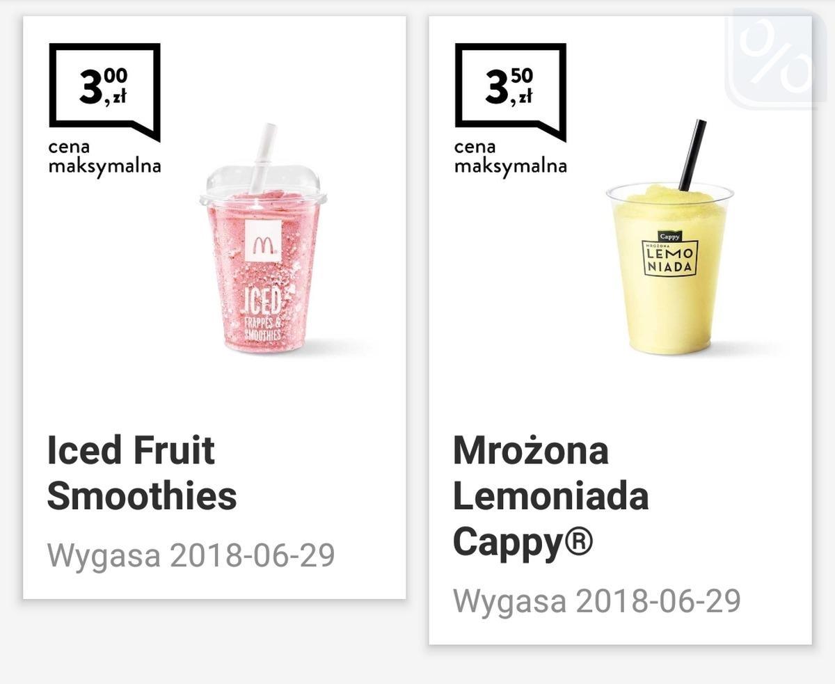 Gazetka promocyjna McDonalds do 29/06/2018 str.0