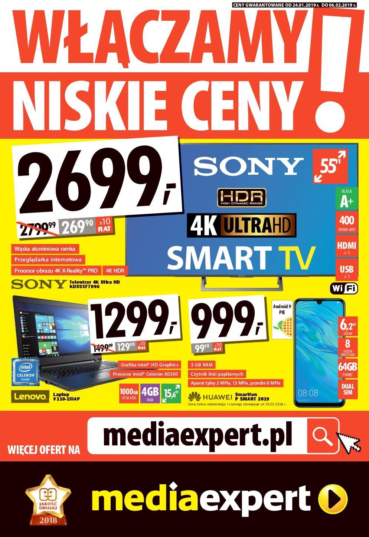 Gazetka promocyjna Media Expert do 06/02/2019 str.0