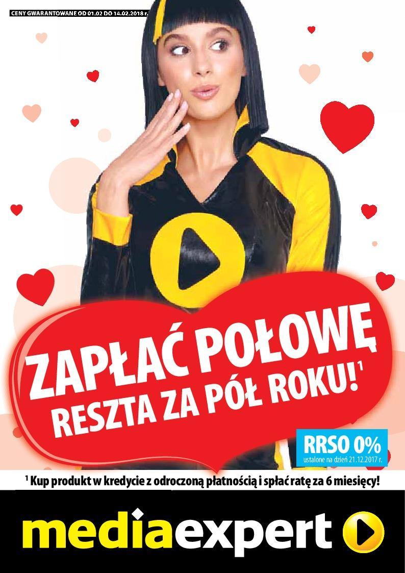 Gazetka promocyjna Media Expert do 14/02/2018 str.1