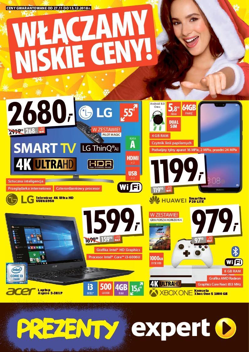 Gazetka promocyjna Media Expert do 13/12/2018 str.0