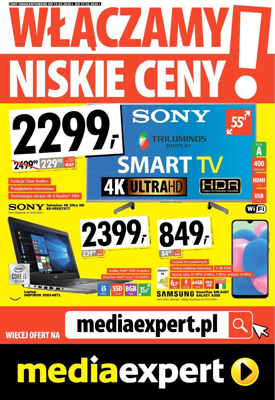 Gazetka promocyjna Media Expert do 27/02/2020 str.0