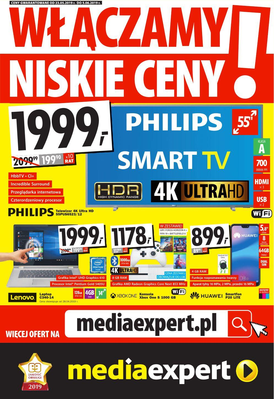 Gazetka promocyjna Media Expert do 05/06/2019 str.0