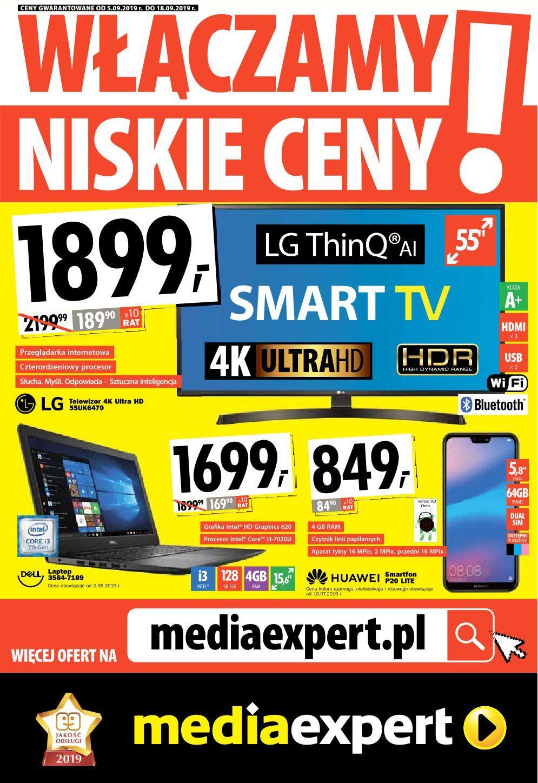 Gazetka promocyjna Media Expert do 18/09/2019 str.0