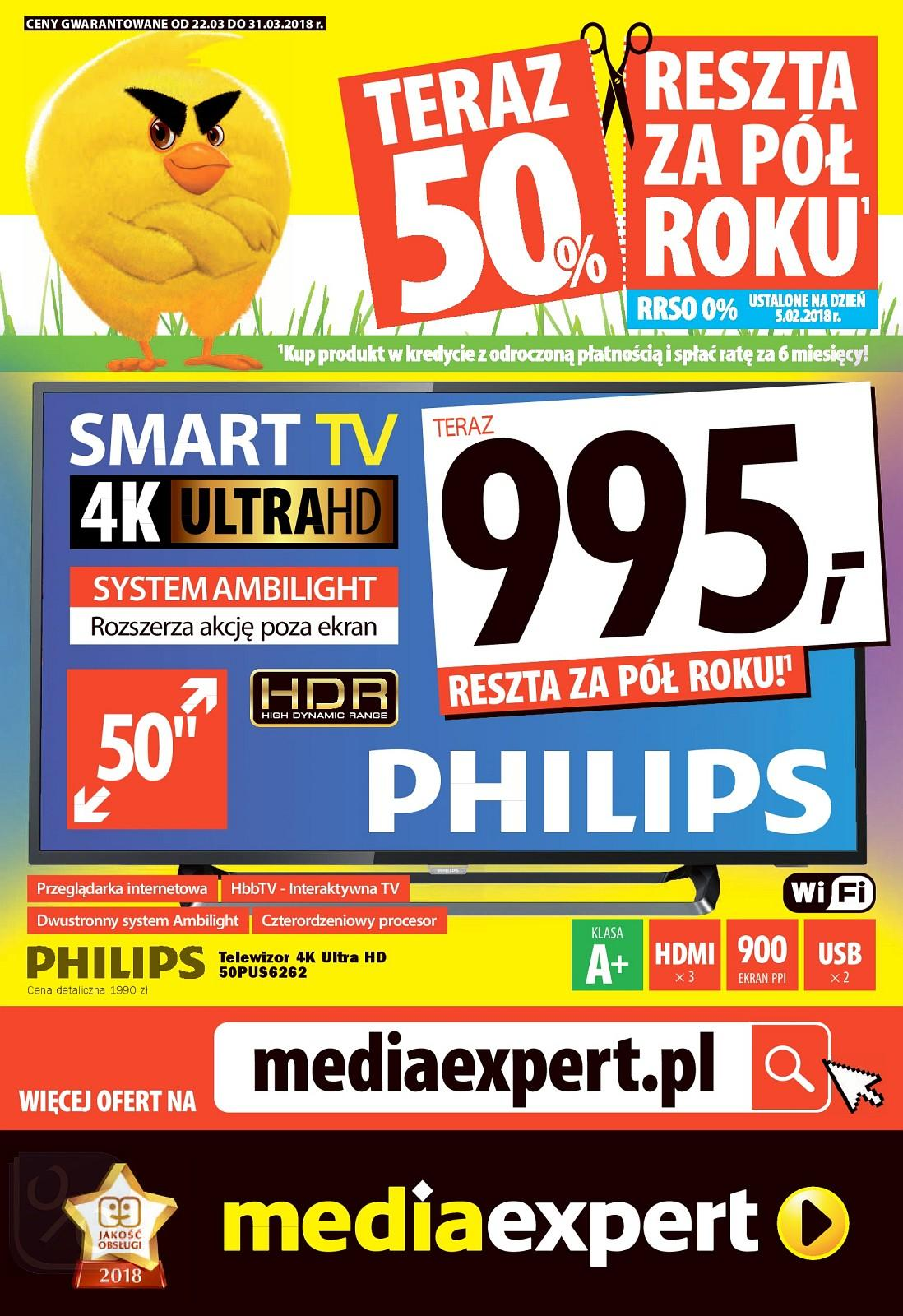 Gazetka promocyjna Media Expert do 31/03/2018 str.0