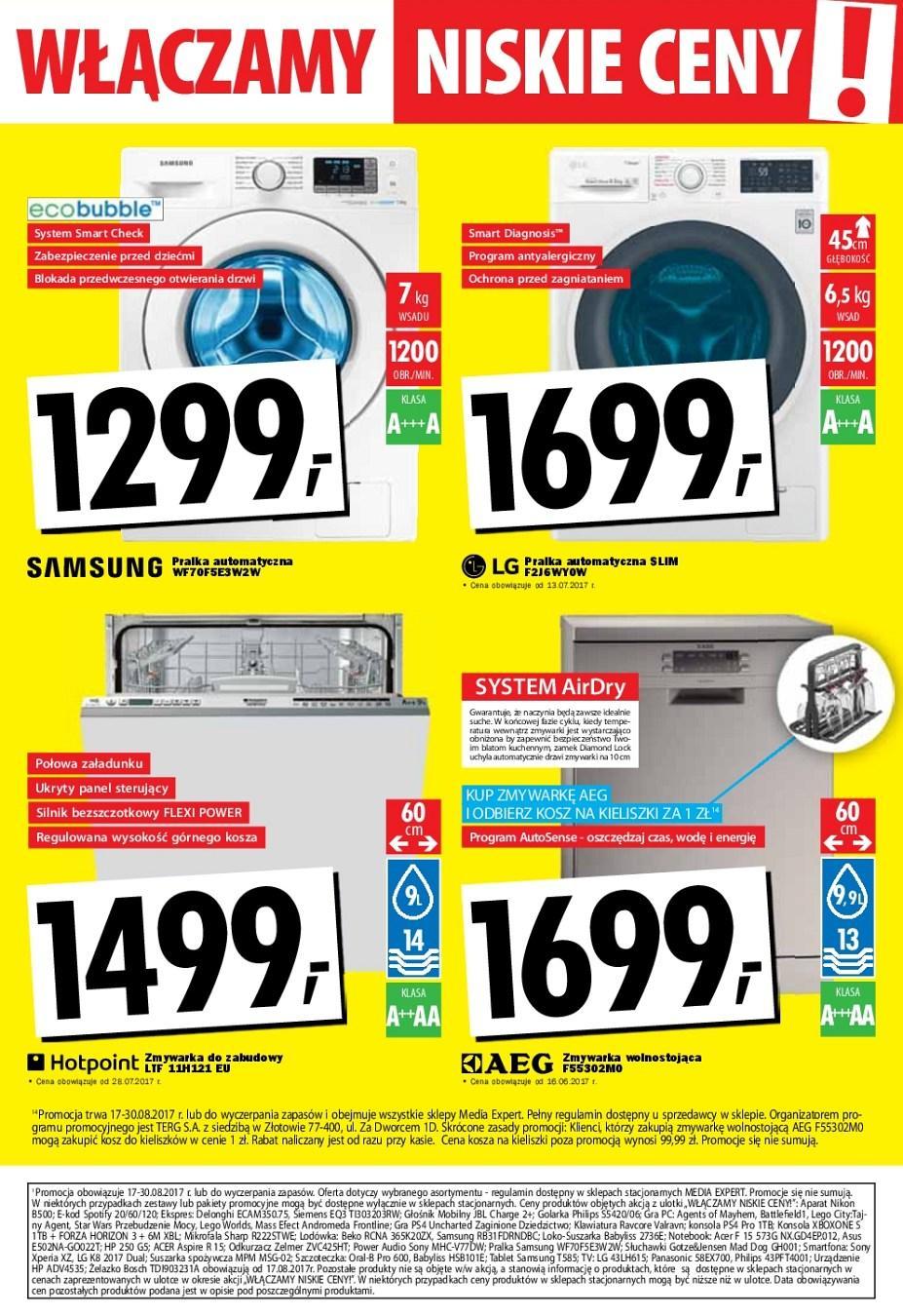 Gazetka promocyjna Media Expert do 30/08/2017 str.10