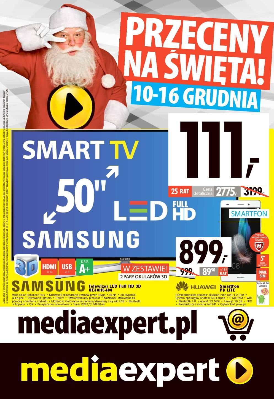 Gazetka promocyjna Media Expert do 16/12/2015 str.0