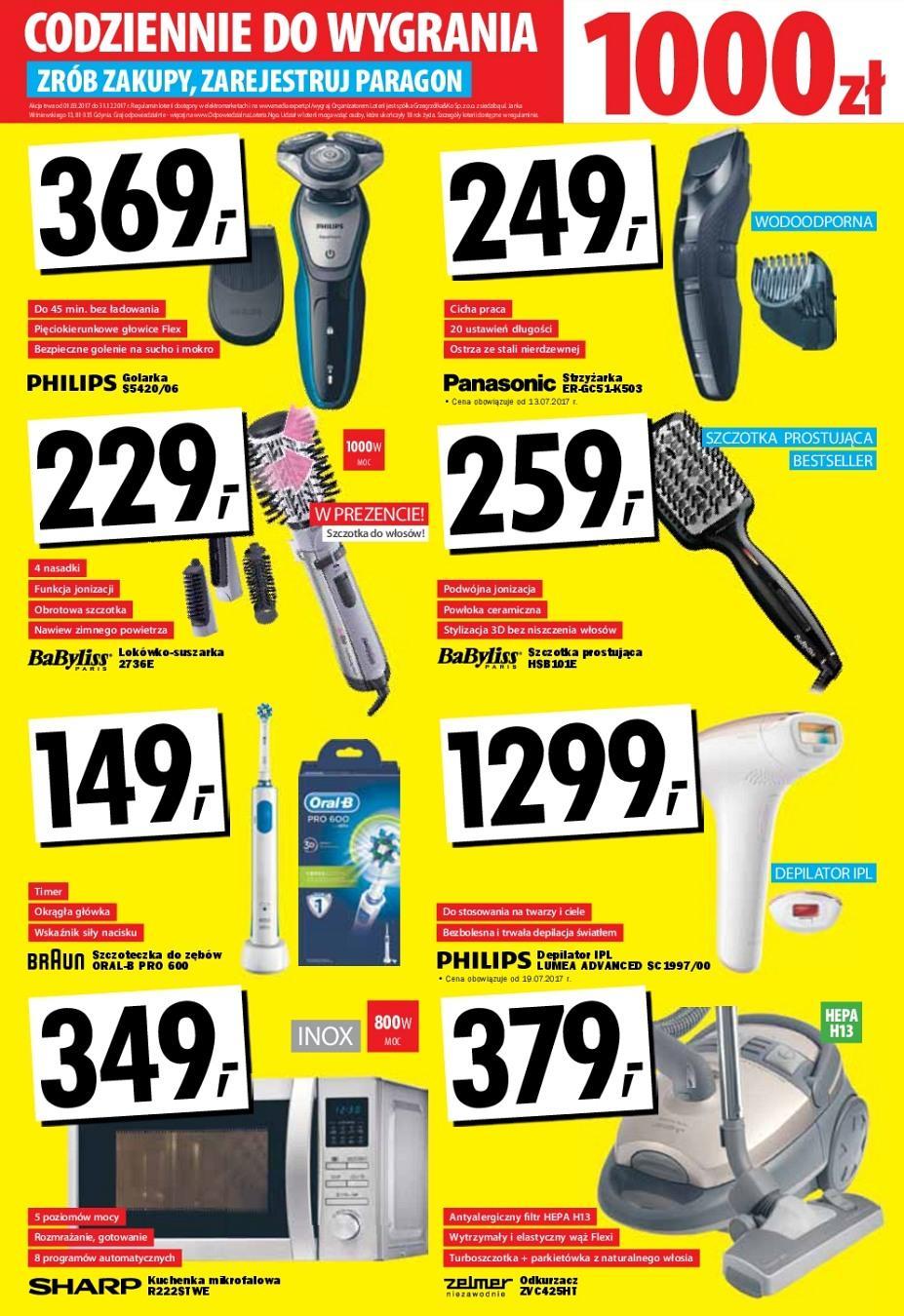 Gazetka promocyjna Media Expert do 30/08/2017 str.8