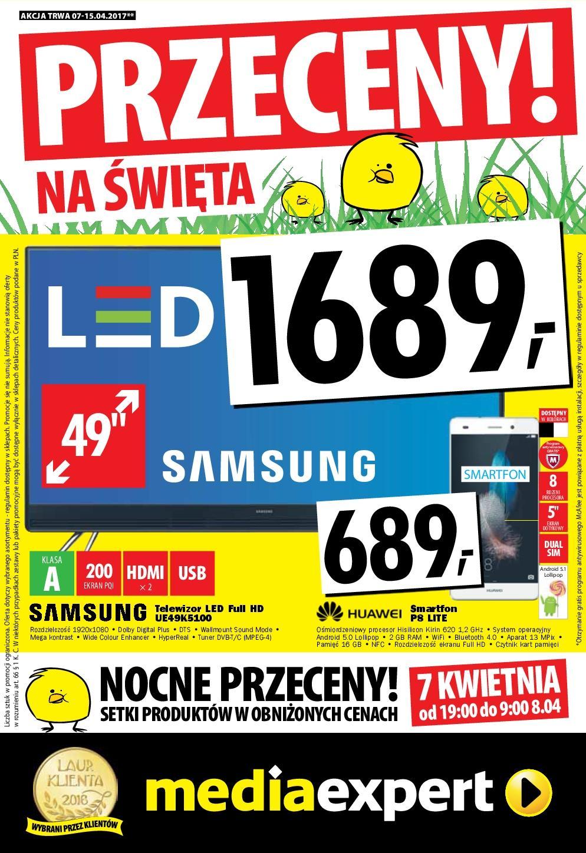 Gazetka promocyjna Media Expert do 15/04/2017 str.0