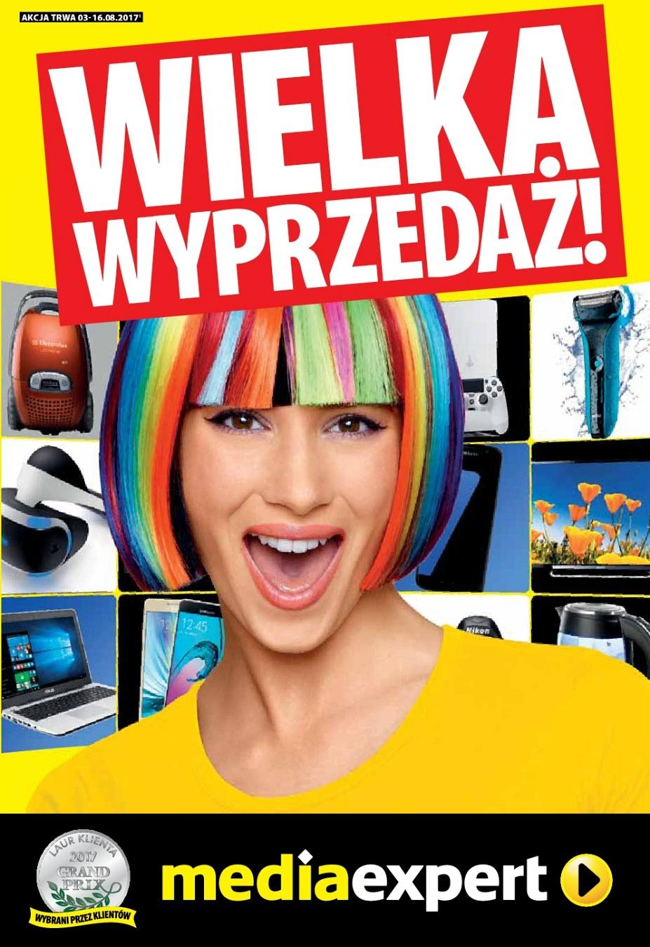 Gazetka promocyjna Media Expert do 16/08/2017 str.0