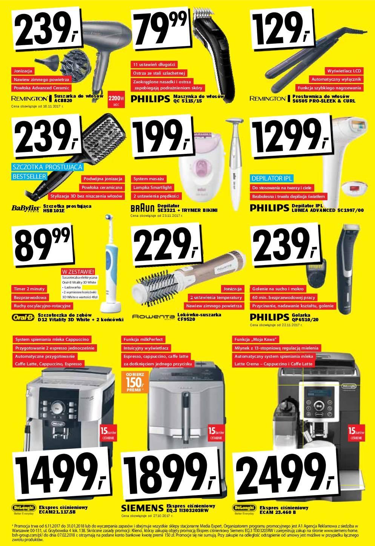 Gazetka promocyjna Media Expert do 06/12/2017 str.8