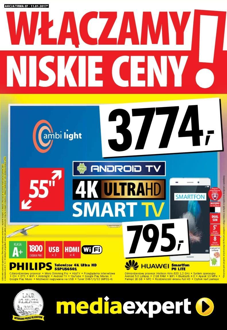 Gazetka promocyjna Media Expert do 11/01/2017 str.0