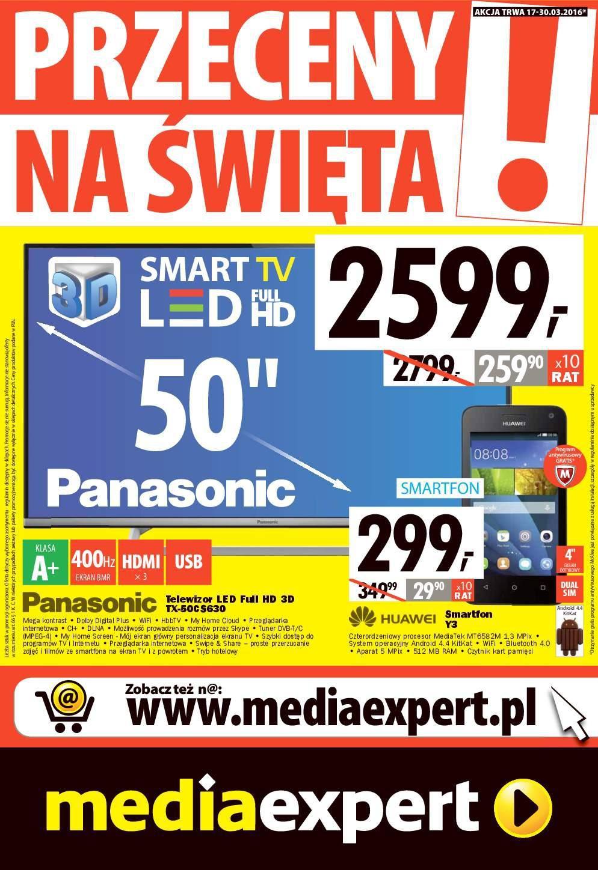 Gazetka promocyjna Media Expert do 30/03/2016 str.0