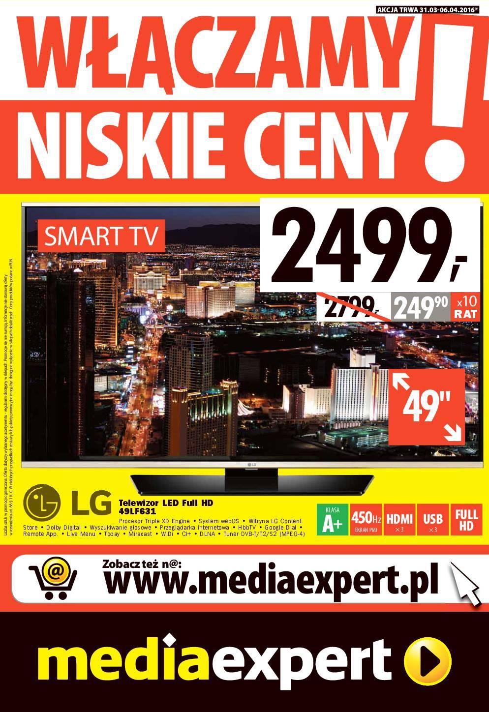 Gazetka promocyjna Media Expert do 06/04/2016 str.0