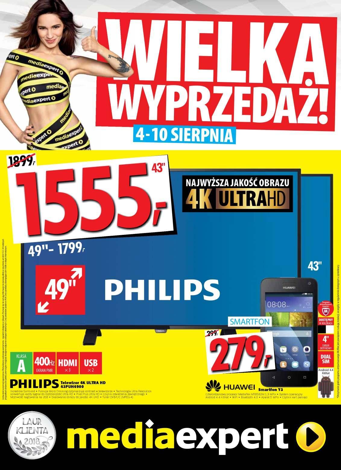 Gazetka promocyjna Media Expert do 10/08/2016 str.0