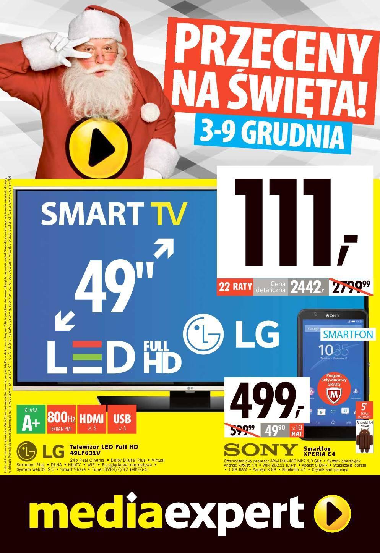 Gazetka promocyjna Media Expert do 09/12/2015 str.0