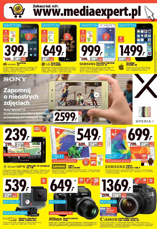 Gazetka promocyjna Media Expert do 15/06/2016 str.3