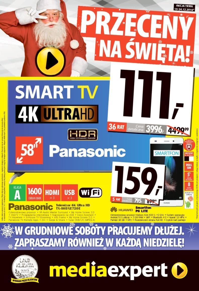 Gazetka promocyjna Media Expert do 24/12/2016 str.0