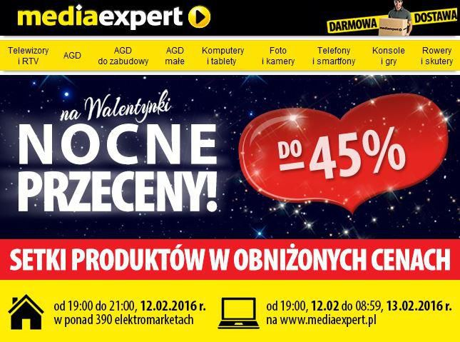 Gazetka promocyjna Media Expert do 13/02/2016 str.0