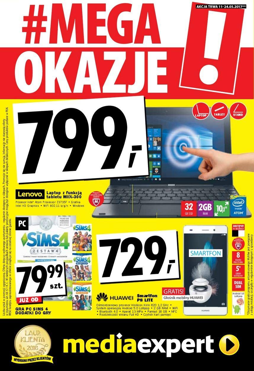 Gazetka promocyjna Media Expert do 24/05/2017 str.0
