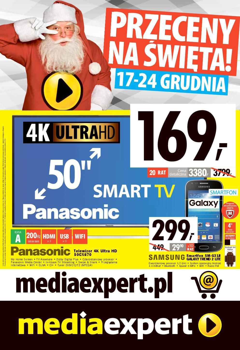 Gazetka promocyjna Media Expert do 24/12/2015 str.1