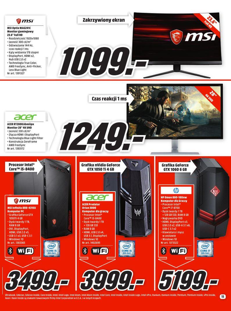 Gazetka promocyjna Media Markt do 31/08/2019 str.11