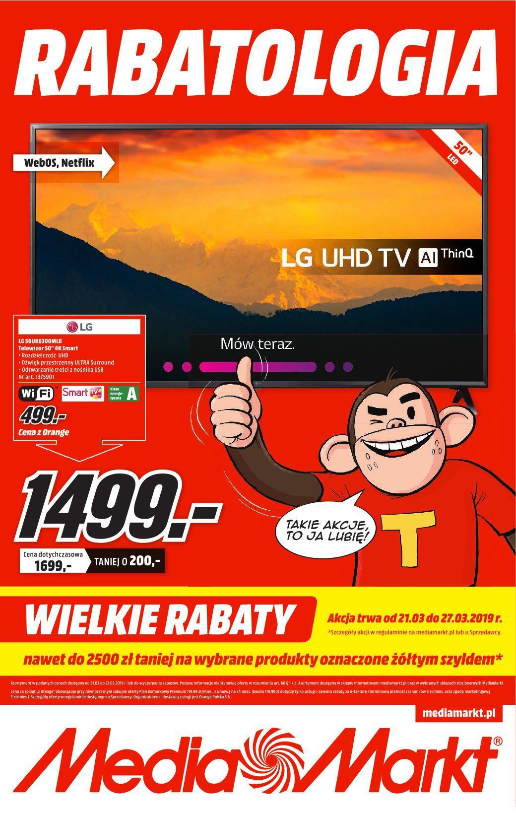 Gazetka promocyjna Media Markt do 27/03/2019 str.0