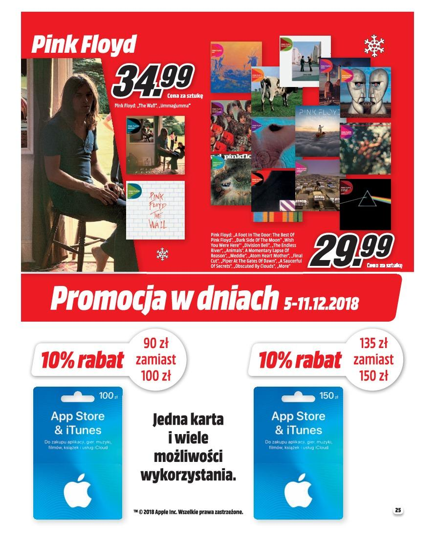 Gazetka promocyjna Media Markt do 31/12/2018 str.25