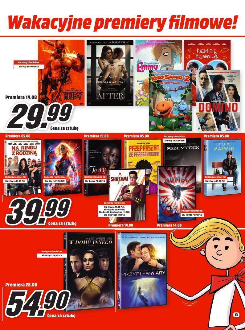Gazetka promocyjna Media Markt do 31/08/2019 str.13