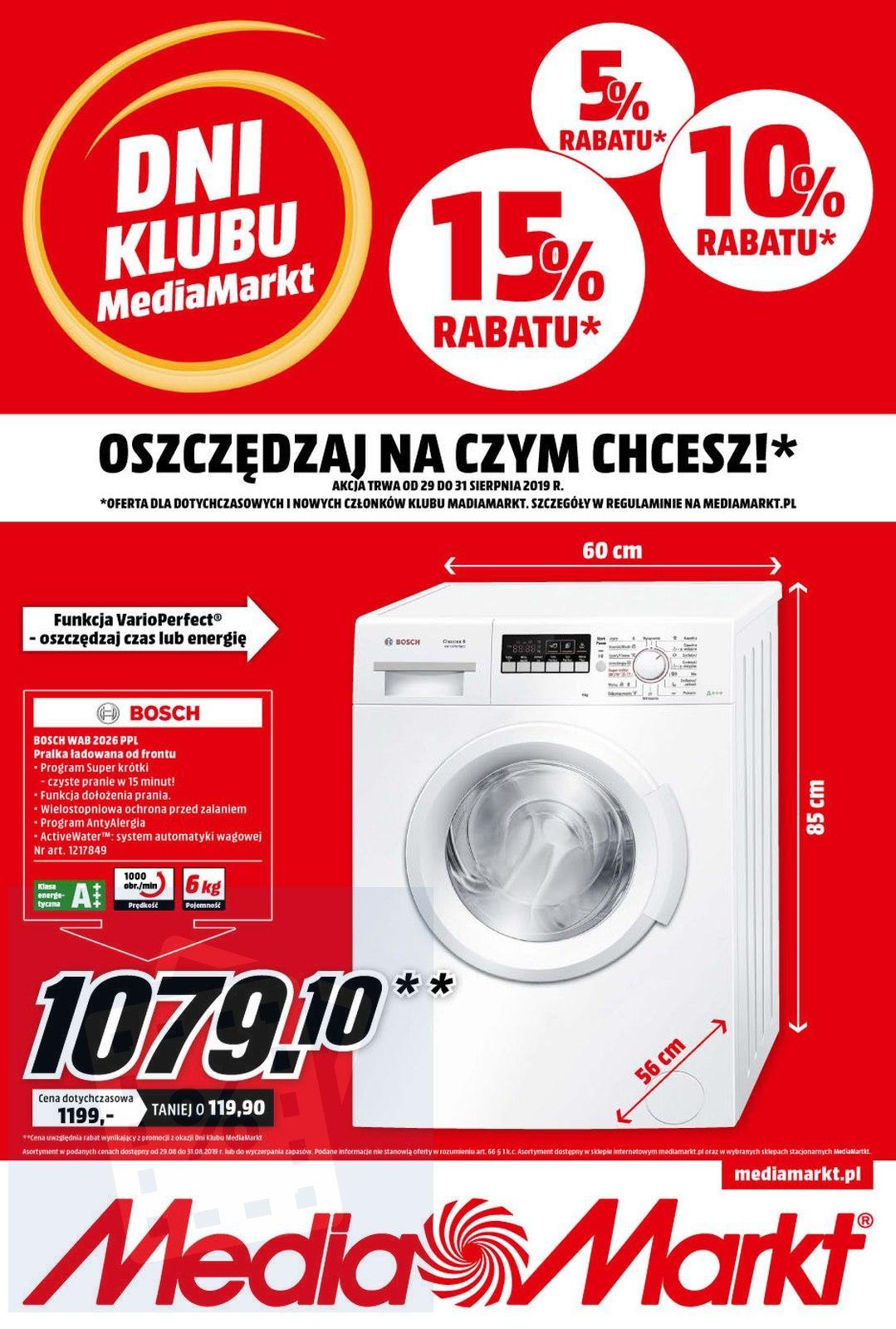 Gazetka promocyjna Media Markt do 31/08/2019 str.0