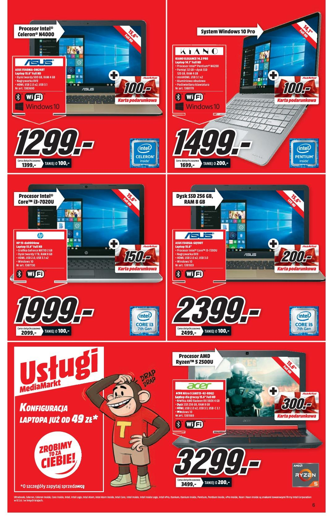 Gazetka promocyjna Media Markt do 13/01/2019 str.6